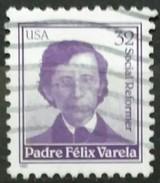 ESTADOS UNIDOS 1997. Padre Félix Varela. USADO - USED. - Usados