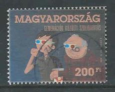 Hongarije, Yv 4489  Jaar 2012, Hoge Waarde,  Gestempeld,  Zie Scan - Oblitérés