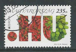 Hongarije, Yv Uit Blok 332,  Jaar 2012, Hoge Waarde,  Gestempeld,  Zie Scan - Oblitérés