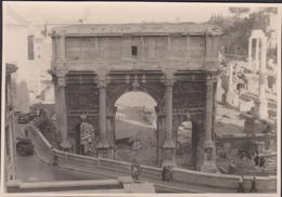 Old Original Unique Photo Arch Of Septimus Severus Forum Romanum Roma Rome Oude Foto Lazio Italia Italy Italie - Roma (Rome)