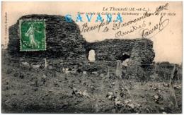 49 LE THOUREIL - Tour Ruinée De Galles Ou De Richebourg - Donjon - France
