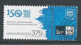 Hongarije, Yv 4625,  Jaar 2015, Hoge Waarde,  Gestempeld,  Zie Scan - Oblitérés