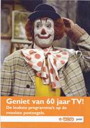 """Nederland - TNT Post- Reclamefolder - Postzegelserie """"Geniet Van 60 Jaar Televisie!"""" - 2011 - Propaganda"""
