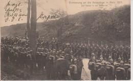 57 - METZ - NELS SANS NUMERO - MILITAIRES - SOUVENIR DE LA VISITE DU KAISER EN 1905 - Metz