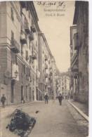 SAMPIERDARENA / Genova - Via G.B. Monti -1908 - Genova