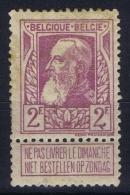 Belgium 1905 OPB Nr 80 MH/* Falz/ Charniere  Little Spot - 1905 Grosse Barbe