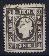 Austria:  Mi Nr 11 Type IIb  Grauschwarts   Used - 1850-1918 Imperium
