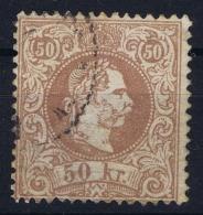 Austria:  Mi Nr 41 II   Used  1867 - 1850-1918 Empire