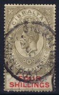 Gibraltar 1912  SG 83 Used