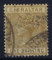 Gibraltar 1886  SG 14 Used Signed/ Signé/signiert/ Approvato - Gibraltar