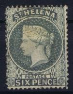 St Helena 1871 SG 29   Mi Nr 12d  Perfo 14  MH/* Falz/ Charniere - St. Helena