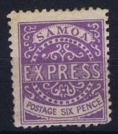 Samoa 1877 SG  12 MH/* Falz/ Charniere