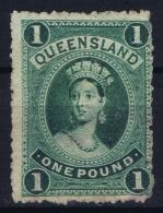 Queensland 1882 SG 156 Re-entry  Used - 1860-1909 Queensland
