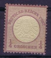 Deutsche Reich Mi Nr 16 MH/* Falz/ Charniere 1872 - Deutschland