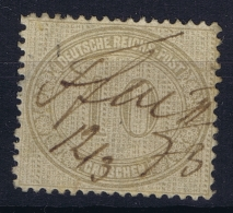 Deutsche Reich Mi Nr 12 Used 1872 - Germania