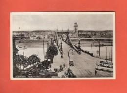 * CPSM Photo..Allemagne..MANNHEIM : Neckarbrücke : Voir Les 2 Scans - Mannheim