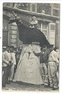 +++ CPA - ATH - Cortège Des Fêtes Communales- L'Aigle ( Géant ) - Carnaval - Folklore  // - Ath