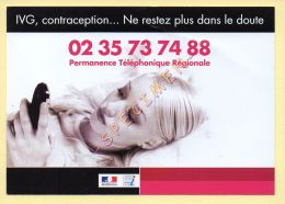 Publicité Médicale – IVG, Contraception - Santé