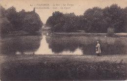 """Vilvoorde Vilvorde - Park De Vyvers(sic) Vijvers Parc Les Etangs (animatie, Henrie Georges Edit., """"inconnu"""") - Vilvoorde"""