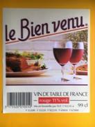 2467 -  Le Bien Venu Vin De Table - Rouges