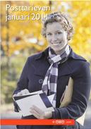 Nederland - TNT Post - Brochure Tarievenlijst Januari 2011 - 6 Pagina's - Nieuw Exemplaar - Posttarieven