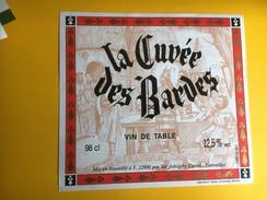 2468 -  La Cuvée Des Bardes Vin De Table - Rouges