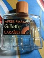 FLACON VIDE GILLETTE APRES RASAGE-CARAIBES- - Bottles (empty)