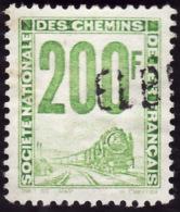PETITS COLIS 1946  -    YT  24  -  200f   Vert   - Oblitéré - Colis Postaux