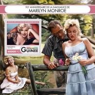 Z08 GU16408b GUINEA (Guinee) 2016 Marilyn Monroe MNH - Guinea (1958-...)