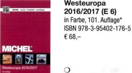 West-Europa Band 6 MICHEL Briefmarken Katalog 2017 Neu 68€ Belgica EIRE Luxemburg NL Greatbritain UK Jersey Guernsey Man - Tarjetas Telefónicas