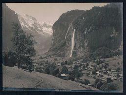 Lauterbrunnen Interlaken-Oberhasli Original Foto Photo Vintage - Non Classés