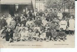44 - SAINTE  PAZANNE - Ecole Enfantine ( Grosse Animation ) Carte Peu Courante - Otros Municipios