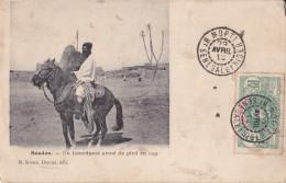 SOUDAN Un Bourdame Armé De Pied En Cap - Sudan