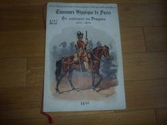 CHEVAL EQUITATION PROGRAMME CONCOURS HIPPIQUE DE PARIS - Tri - Centenaires Des Dragons 1635 - 1935 - Dessins Rousselot - Programs