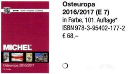 Osteuropa Band 7 MICHEL Briefmarken Katalog 2017 New 68€ Poland Russia Sowjetunion Ukraine Moldau Moldawia Weiß-Russland - Munten & Bankbiljetten