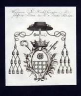 Werden Helmstadt Verden Kupferstich Wappen - Estampas & Grabados