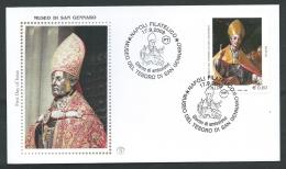 2009 ITALIA FDC FILAGRANO GOLD MUSEO DI SAN GENNARO NAPOLI - FG2009-4 - 6. 1946-.. Republik