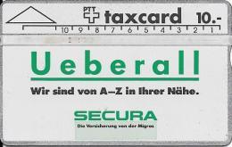 PTT: K-90/28A1 010G Secura Versicherung - Schweiz