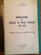Pothion 1974 PC Et GC Nomenclature Coté - Oblitérations