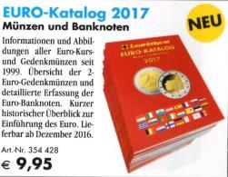 Neue Auflage EURO Münz Katalog Deutschland 2017 Neu 10€ Für Numis-Briefe/Numisblätter Mit Banknoten Catalogue Leuchtturm - Material Und Zubehör