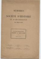 Biographie, 1926 Barthélémy Pocquet Du Haut Jussé, Par Roger Grand, Société Histoire, Archéologie Bretagne - Biographies & Mémoires