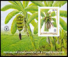 Sao Tome E Principe, 1981, World Food Day, FAO, Food And Agriculture Organization, United Nations, MNH, Michel Block 79B - Sao Tomé E Principe