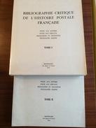 Nougaret 1970 Bibliographie Critique De L'histoire Postale Française Poste Aux Lettres Poste Aux Chevaux Chappe RR - Bibliographies