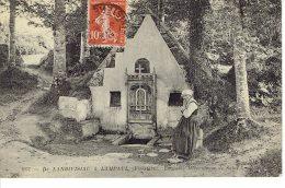 De Landivisiau  A Lampaul Fontaine Miraculeuse  De Saint Anasthase - Landivisiau