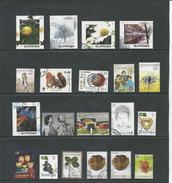 SLOVENIE, Lot Van 20 Recente Zegels,    Gestempeld,  Zie Scan - Slovénie