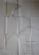 Maroc Carte De La Plaine Du Sebou 1905 - Cartes Géographiques