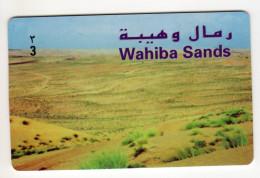 OMAN CARTE ALPHACARD WAHIBA SANDS - Oman