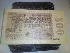 GERMANY 1923 500 MILLION P-110d BANKNOTE LOC#A1243 - 1918-1933: Weimarer Republik