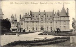 Cp Faverolles Villers Cotterets Environs Aisne, Le Chateau De Maucreux, Fassade - France