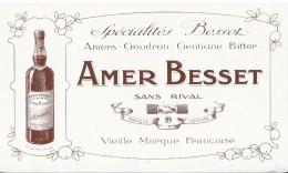 AMER  BESSET - Buvards, Protège-cahiers Illustrés